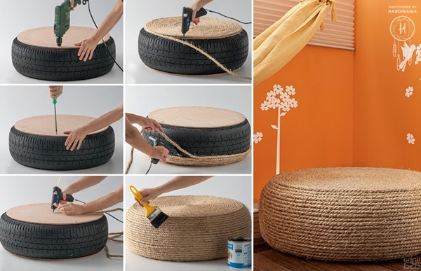 How to Reuse Old Tyres (1)