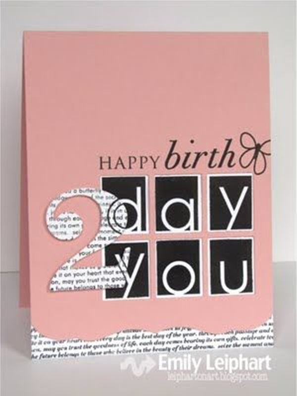 Handmade Birthday Card Ideas (3)