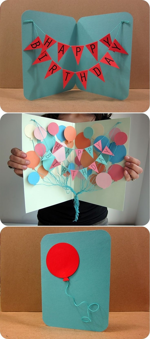 Handmade Birthday Card Ideas (4)