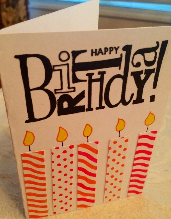 Handmade Birthday Card Ideas (6)