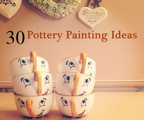 Gallery for easy painted pottery designs - Painting ideas for pottery ...