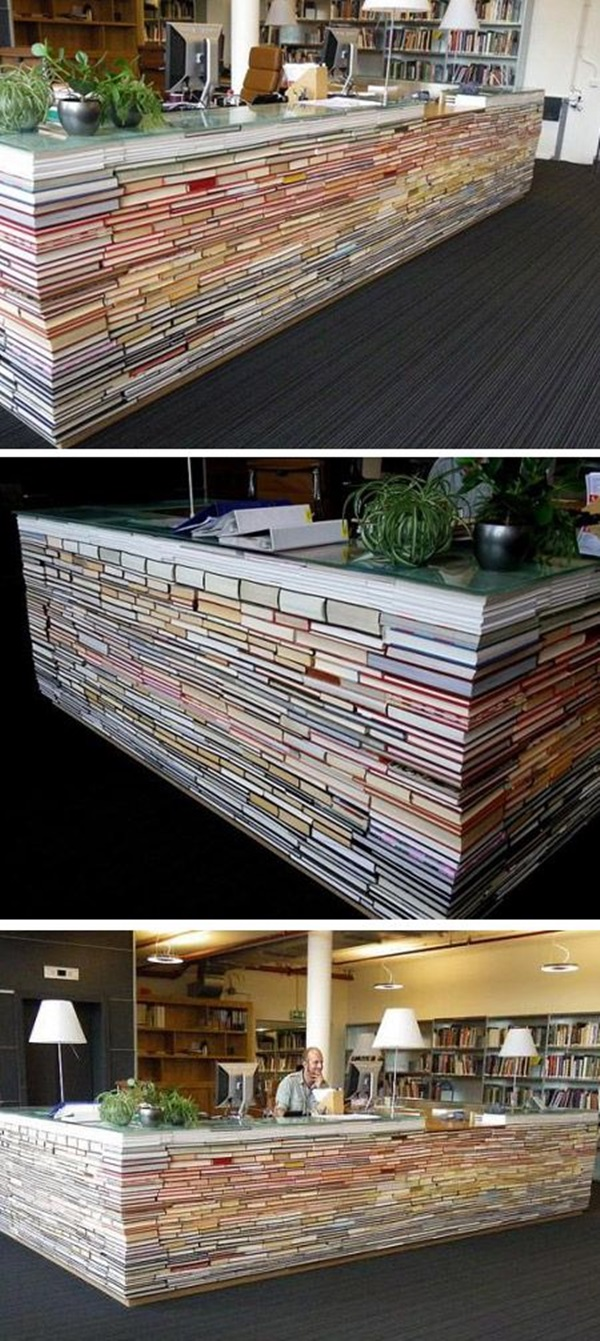 Creative Ways To Make Use Of Old Textbooks (10)