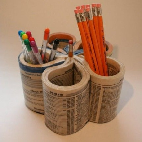 Creative Ways To Make Use Of Old Textbooks (6)