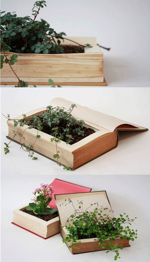 Creative Ways To Make Use Of Old Textbooks (7)