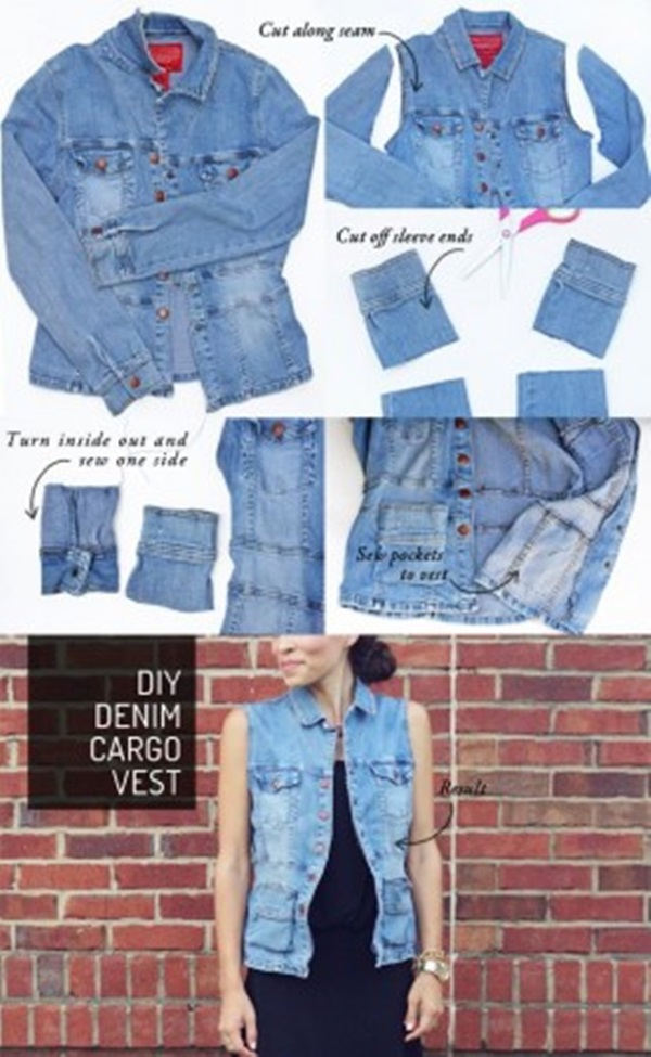 Recycle Old Clothes Into New Fashions