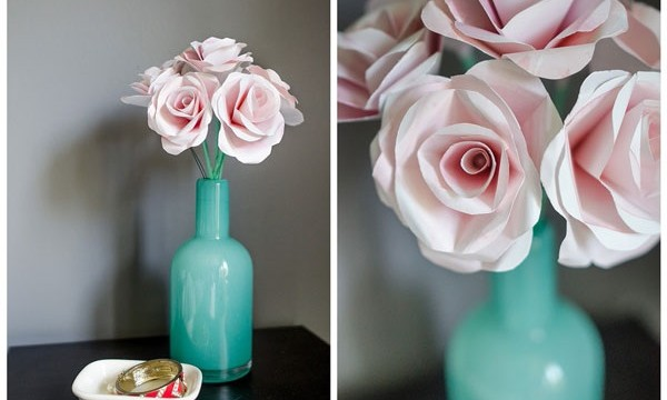 20 DIY Paper Flower Tutorials 12