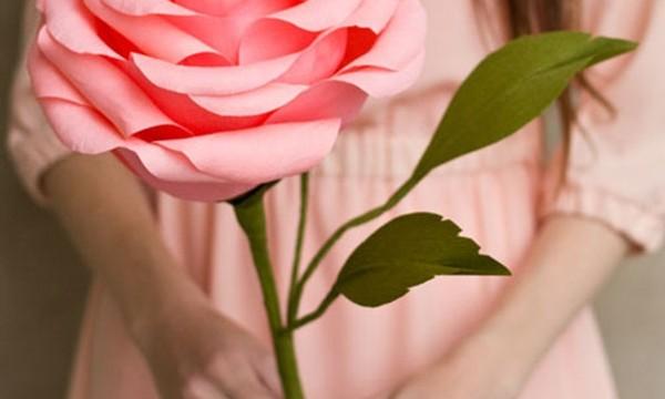 20 DIY Paper Flower Tutorials 18