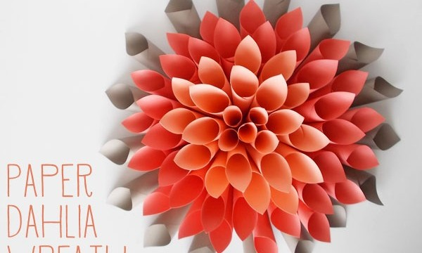 20 DIY Paper Flower Tutorials 9
