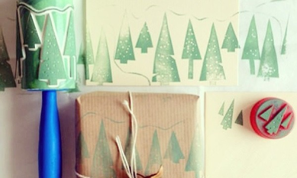 25 DIY Wrapping Paper Ideas for Gifts 15