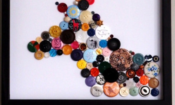Awesome and Creative Was to Reuse your Old Buttons 10