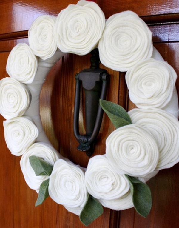 25 easy and attractive fabric flowers patterns with tutorials for Fabric crafts to make