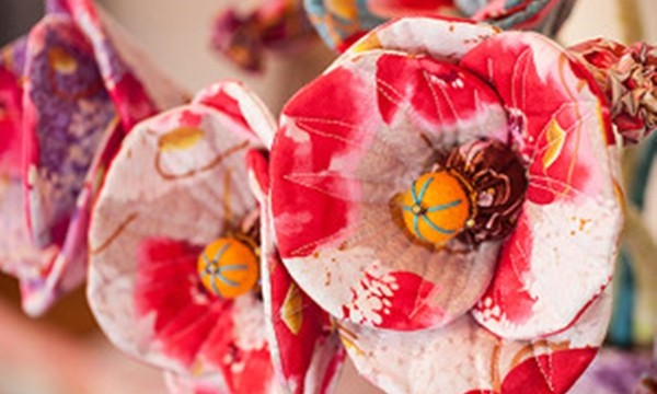 Easy Fabric Flower Patterns 12