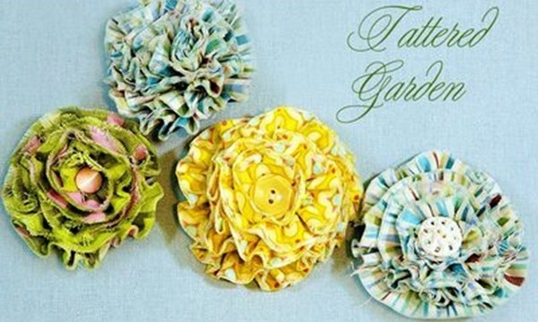 Easy Fabric Flower Patterns 13