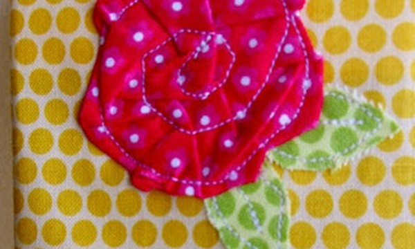 Easy Fabric Flower Patterns 22