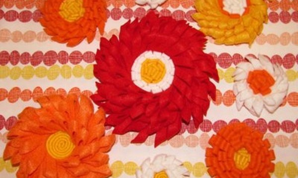 Easy Fabric Flower Patterns 25