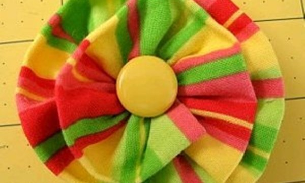 Easy Fabric Flower Patterns 4