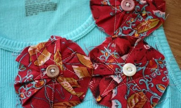 Easy Fabric Flower Patterns 6