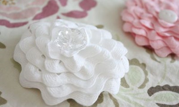 Easy Fabric Flower Patterns 7