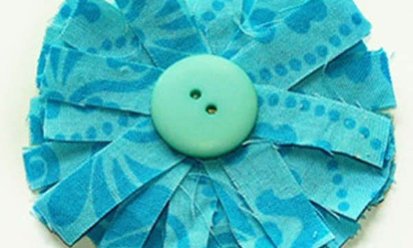 Easy Fabric Flower Patterns 8