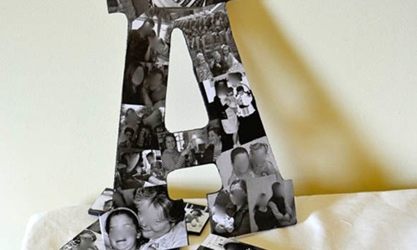 10 DIY Projects with Letters 2