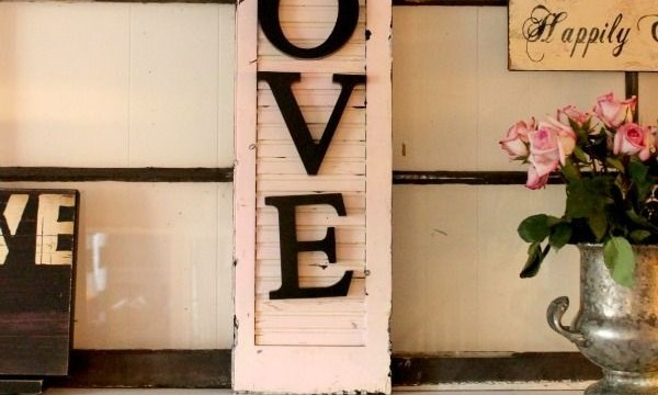 10 DIY Projects with Letters 4
