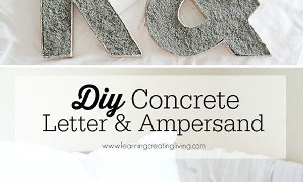 10 DIY Projects with Letters 7
