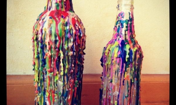 24 Cool Melted Crayon Art 3