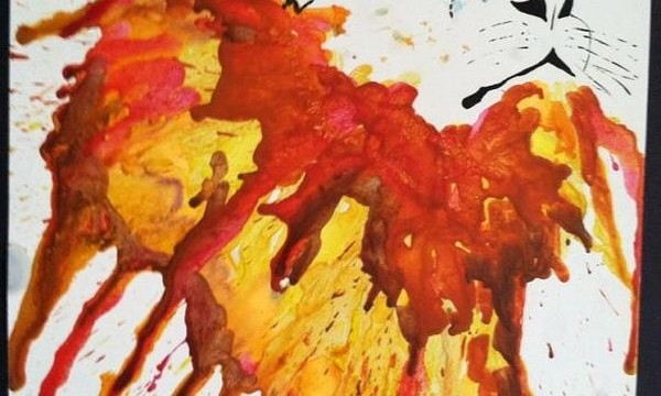 24 Cool Melted Crayon Art 5