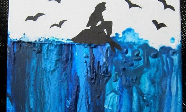 24 Cool Melted Crayon Art 8