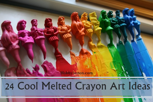 40 Cool Melted Crayon Art Ideas