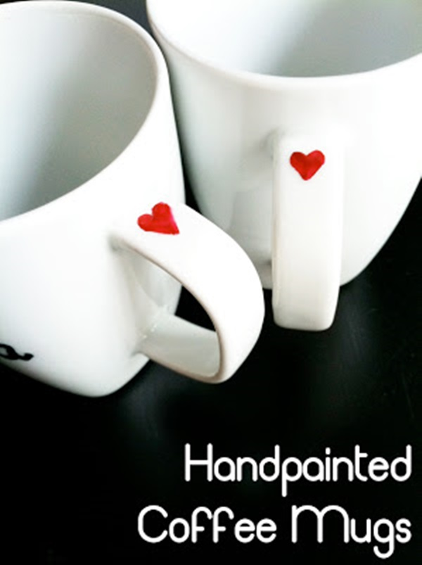 Cute mug designs to paint the image kid for Coffee painting ideas