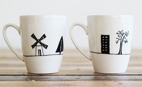 40 creative coffee mug painting ideas 7 - Cup Design Ideas