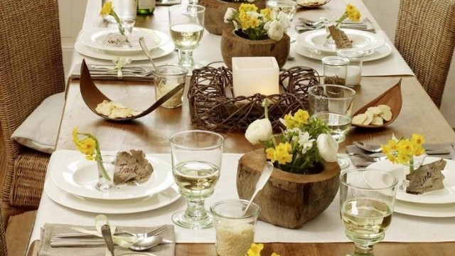 40 Creative Dining Table Decoration Ideas  (13)