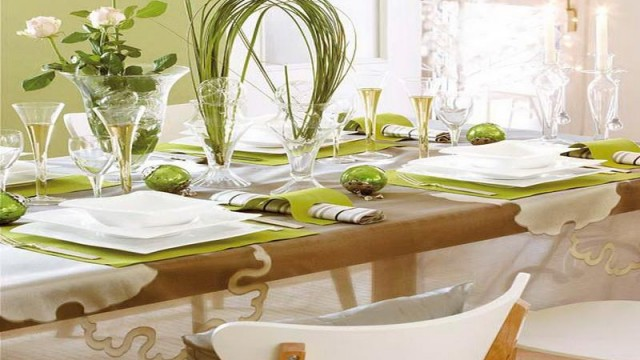 40 Creative Dining Table Decoration Ideas  (17)