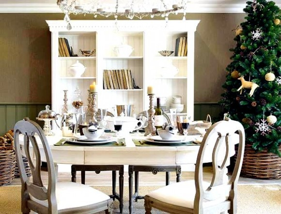 40 useful dining table decoration ideas. Black Bedroom Furniture Sets. Home Design Ideas