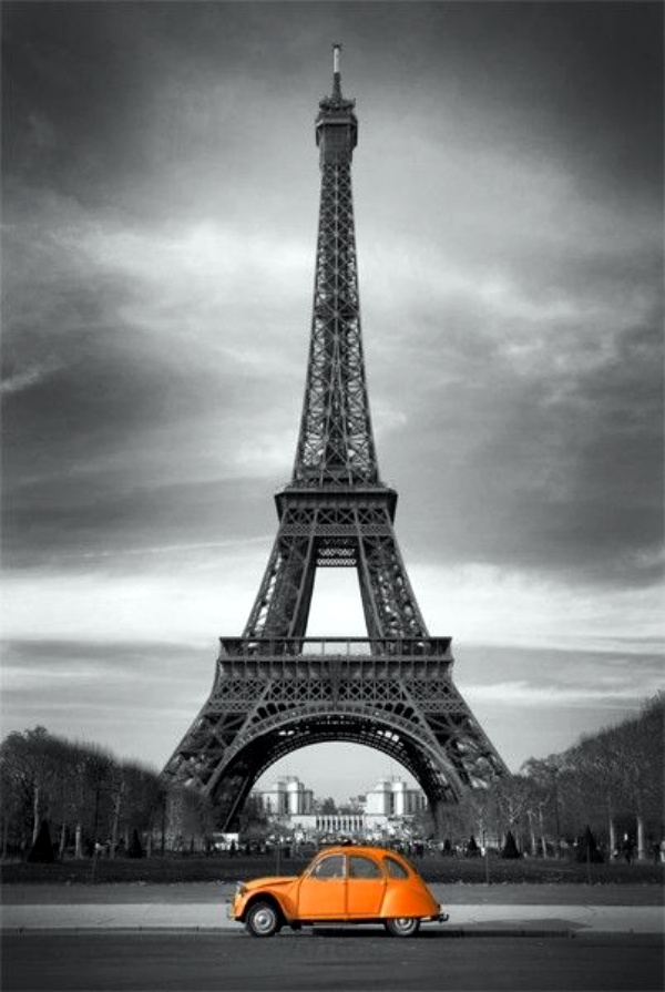 Easy and Beautiful Eiffel Tower Drawing and Sketches00006