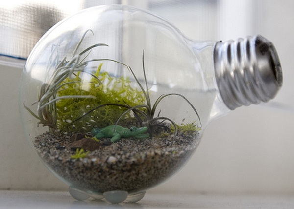 19 Brilliant Ways to Repurpose Old Light Bulbs 11