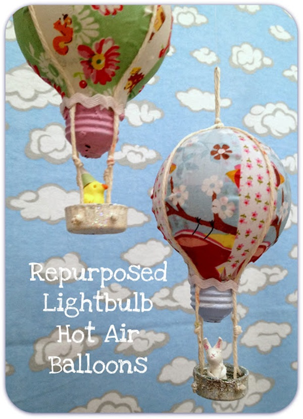 19 Brilliant Ways to Repurpose Old Light Bulbs 2