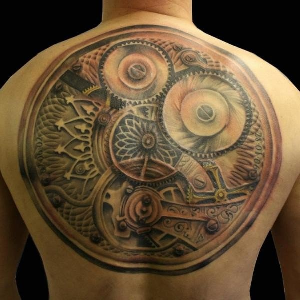 25 Awesome Steampunk Tattoo Ideas 10