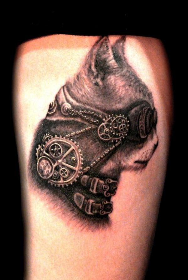 25 Awesome Steampunk Tattoo Ideas 11