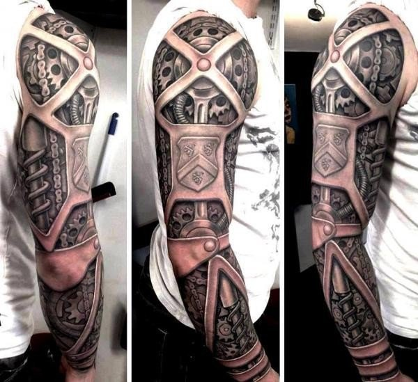 25 Awesome Steampunk Tattoo Ideas 12