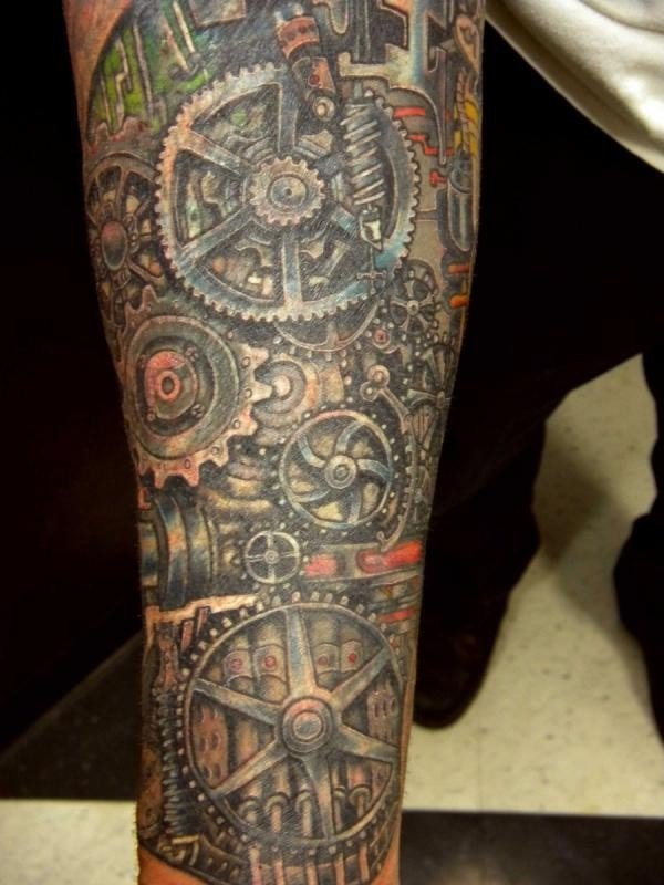 25 Awesome Steampunk Tattoo Ideas 2