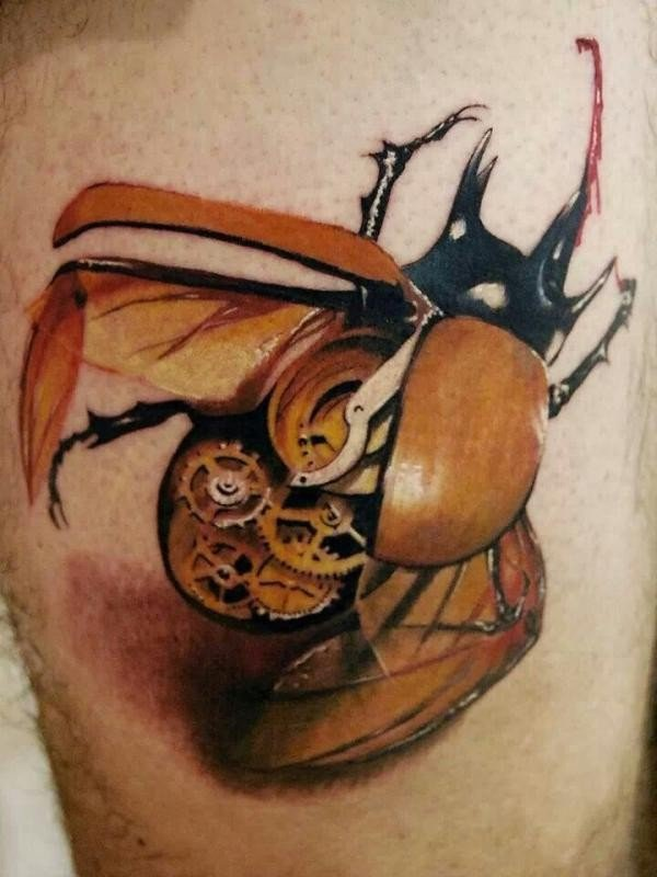 25 Awesome Steampunk Tattoo Ideas 5