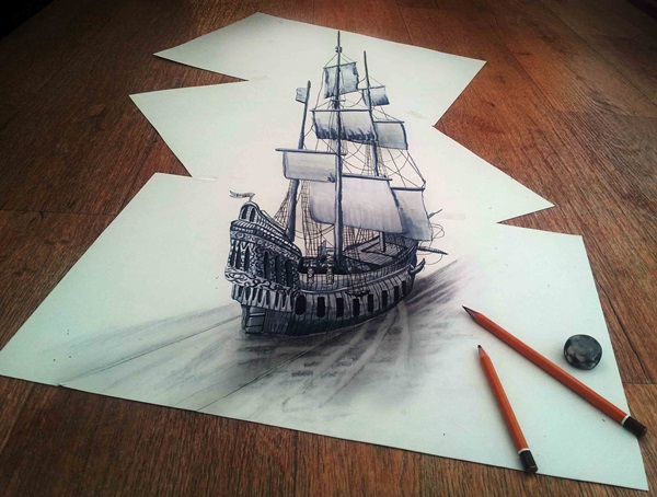 35 extremely Beautiful Illusion Drawings 16