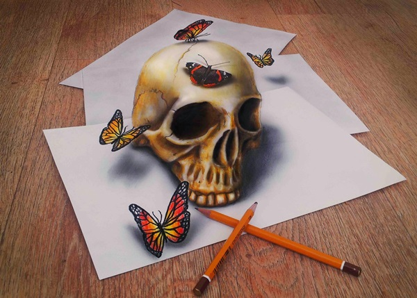 35 extremely Beautiful Illusion Drawings 17