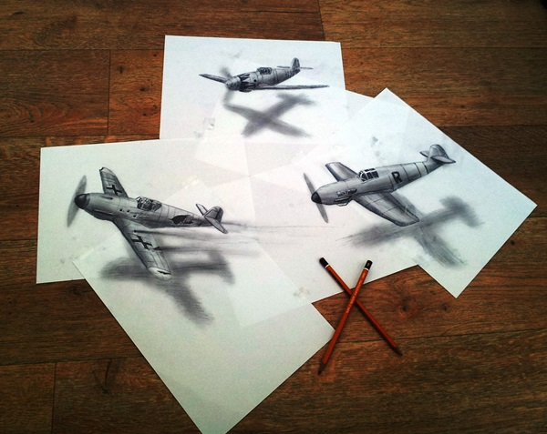 35 extremely Beautiful Illusion Drawings 18