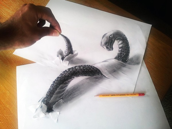 35 extremely Beautiful Illusion Drawings 19