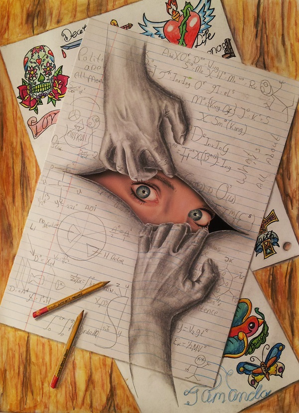 35 extremely Beautiful Illusion Drawings 20