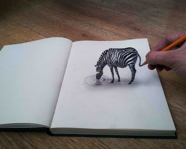 35 extremely Beautiful Illusion Drawings 21