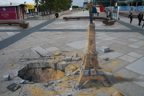35 extremely Beautiful Illusion Drawings 33